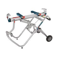 Bosch Gravity-Rise Steel Adjustable Miter Saw Stand