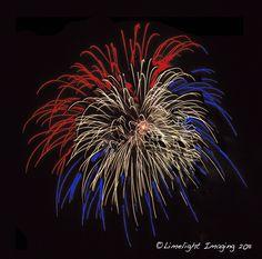 Red White & Blue Fireworks