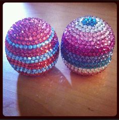 EOS Lip Balm. My daughter and I love these. Going to need some blinged Chapstick