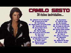 CAMILO SESTO - LO MEJOR DE LO MEJOR (30 éxitos inolvidables) - YouTube