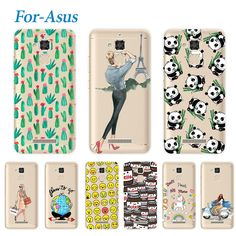 RIVAS Fashion Young Soft Case For ASUS Zenfone 3 Max ZC520TL Lovely Soft Silicone Phone Cases For ASUS Zenfone 3Max ZC520TL 5.2""