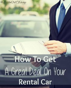 Traveling soon? Learn How To Get A Great Deal On Your Rental Car with our tips! Car Rental Deals, Best Car Rental, Enjoy Your Vacation, Vacation Trips, Vacation Ideas, Vacations, Time Travel, Travel Tips, Travel Ideas