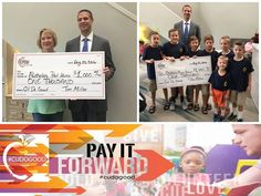 More credit unions showing those awesome donations! #Marketing