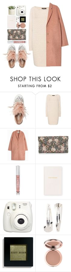 """#1085 Marjorie"" by blueberrylexie on Polyvore featuring Miu Miu, Loro Piana, Acne Studios, New Look, Victoria's Secret, Smythson, Fujifilm, Adia Kibur, Bobbi Brown Cosmetics and Allstate Floral"