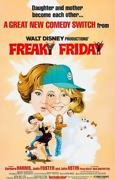 Freaky Friday - 1976 - Movie Poster