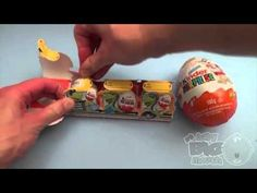 Kinder Eggs Mickey Mouse Kinder Surprise Egg Learn-A-Word! Lesson 'R' (T...