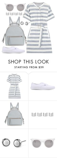 """""""It's a Shirt! It's a Dress! It's a Shirtdress!"""" by joslynaurora ❤ liked on Polyvore featuring Burberry, Vans, Fendi, Maison Margiela, Alexander McQueen, dress, shirtdress and sneakers"""