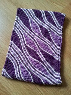How To Knit A Rhomboid Shape Cowl.  Plus free pattern.  Knitting and so on: Mixed Wave Cowl