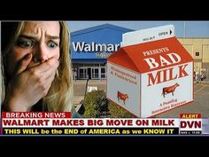MUST WATCH... FAKE MILK? Have you ever wondered why there are so many TRANSGENDERS?? it's all the hormones in everything we eat and drink!!! Walmart running all local Milk farmers out of business!! Doing it so you can't buy milk that isn't full of GMO.. .We are in the same boat as the Seed companies... farmers have to buy seeds for crops from ONE company.. which are full of GMO'S.. this video is a doing it pharmaceutical companies too!!