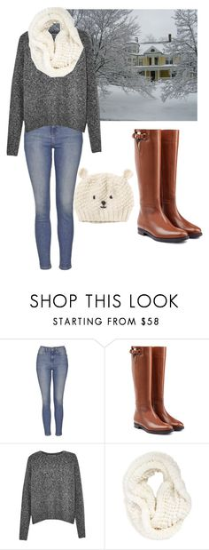"""""""Bears"""" by alethiaangel ❤ liked on Polyvore featuring Topshop, Burberry, French Connection, La Fiorentina, women's clothing, women's fashion, women, female, woman and misses"""