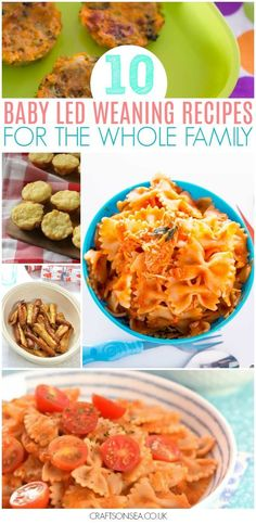 Need some mealtime inspiration? These baby led weaning recipes for the whole family will give you ideas for food everyone will love with hidden vegetable pasta, delicious fish recipes, vegetable fritters and more. #blw #fingerfood #toddler #food