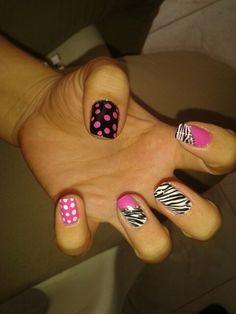 Nail Art Hot Nails, Hair And Nails, Beauty Nails, Hair Beauty, Beauty Makeover, Crazy Nails, Eye Color, Pedicure, Nail Designs