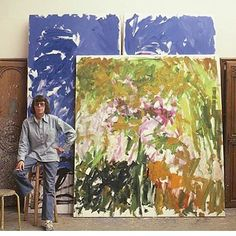 JOAN MITCHELL, MASTER REFERENCE EVER.......#art #artoday #abstract…