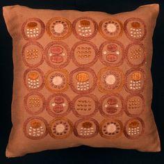 Swedish Embroidery, 50th, Throw Pillows, Retro, Cushions, Embroidery, Toss Pillows, Decorative Pillows, Decor Pillows