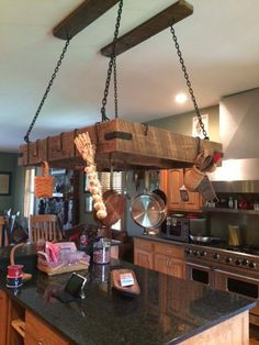 24 Best pan rack hanging images in 2017   Kitchen design