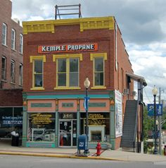 National Register Historic District Paoli, Indiana