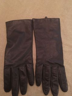 7f1975e20 Extra Off Coupon So Cheap Womens Dark Brown Leather Gloves