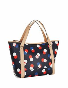 Kate Spade New York Cobblestone Park Staney Tote BLUEBELL MULTI
