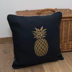 Coussin Ananas - Création lin