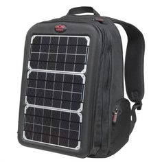 Array Solar Backpack Silver Panels  Fabric: 600D shell made from recycled PET (soda bottles), which is waterproof, lightweight, and UV resistant. - See more at: http://www.voltaicsystems.com/array.shtml#sthash.3fjnKGwE.dpuf