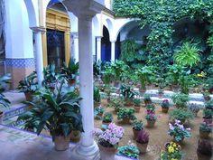 Patio andaluz dedicado a Washington Irving 3 by www.jardinerosenaccion.es, via Flickr
