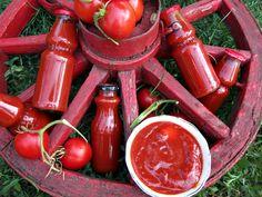 Ketchup, Pickles, Vegetables, Food, Canning, Essen, Vegetable Recipes, Meals, Pickle