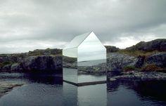 #Sculpture #Architecture #House 'Mirror House' by Ekkehard Alteburger