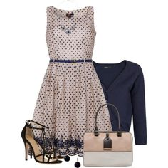 """""""Dots in Spring"""" by daiscat on Polyvore"""