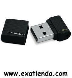 Ya disponible Memoria USB 2.0 Kingston 8gb   (por sólo 13.99 € IVA incluído):   -Capacidad: 8GB -Interface:USB 2.0 -Velocidad lectura: 3MB/s -Velocidad escritura: 1,5MB/s -Otros:- -P/N:DTMCK/8GB   Garantía de 24 meses.  http://www.exabyteinformatica.com/tienda/1912-memoria-usb-2-0-kingston-8gb #memoria #exabyteinformatica