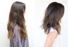 peinado bob largo
