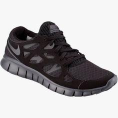 newest c3608 f2b35 Nike Nike Free Run 2, All Black, Cute Fashion, Free Runs, Running