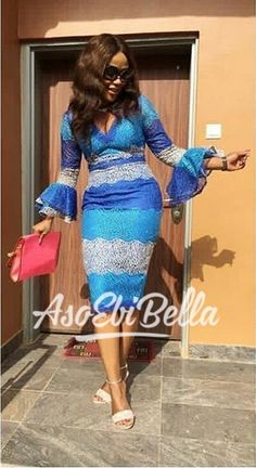 Beautiful Latest Ankara Best Stylish Ankara Styles for Church 2019 African Dresses For Women, African Print Dresses, African Attire, African Wear, African Women, African Style, Ankara Gown Styles, Latest Ankara Styles, Ankara Dress
