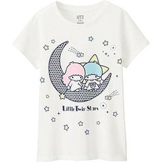 GIRLS SANRIO SHORT SLEEVE GRAPHIC T-SHIRT, WHITE, medium