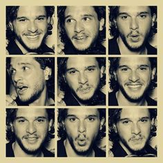 KIT HARINGTON... What can I say? I've been in love with Jon Snow since the first time I read 'Game Of Thrones'... <3