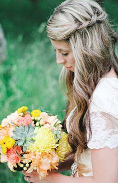 Ślubne fryzury Wedding Hairstyles