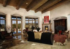 Cinematic style on Sundance Drive, Santa Fe. http://www.okeeffecountry.com/real-estate.html
