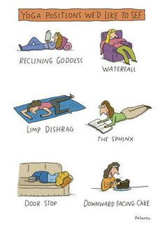 Yoga Positions We'd Like To See
