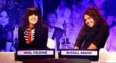 By themselves, Russell Brand and Noel Fielding are very different people. While Russell Brand is all about the revolution and casually trying to wind up Fox News. Noel Fielding, Sight Words, Jimmy Carr, Richard Ayoade, Fangirl, The Mighty Boosh, Paloma Faith, Are You Not Entertained, Joey Tribbiani