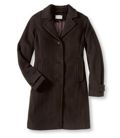 Lambswool Polo Coat from Beans. Polo Coat, Winter Travel, Ll Bean, Beans, London, Jackets, Style, Fashion, Down Jackets