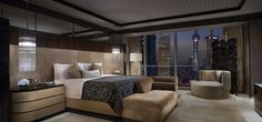 View full picture gallery of Four Seasons Hotel Pudong Room Interior, Modern Interior, Interior Architecture, Interior Design, Hotel Four Seasons, Unusual Homes, Hotel Interiors, Luxurious Bedrooms, Home Bedroom