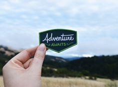 Hey, I found this really awesome Etsy listing at https://www.etsy.com/listing/280030616/adventure-awaits-patch-iron-on-explorer