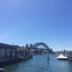 Another beautiful day  #Sydney #sydneyharbourbridge #bluesky #hothot by jeannietlan http://ift.tt/1NRMbNv