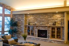 Suede Gray Montana Ledge Stone is stack-able stone. One box of Montana Ledge stone flats will cover 13 square feet, one Corner Box will cover 8 Lineal Feet. Fireplace Box, Fireplace Windows, Fireplace Ideas, Thin Brick Veneer, Stone Veneer, Boulder Creek Stone, Manufactured Stone, Rock Fireplaces, Flat Stone