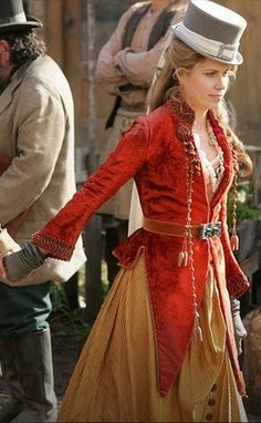 Period Costumes, Movie Costumes, Victorian Steampunk, Victorian Fashion, Wild West Costumes, Linda Kozlowski, Pink Hotel, Western Costumes, Cowboys And Indians