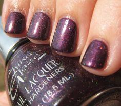 Way Back Wednesday: I Don't Always Wear Purple Polish, But When I Do, It's China Glaze Grape Crush ~ Bottles and Bottles of Polish