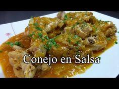 Damereceta - JOSEAN MG en la cocina -   Conejo en salsa ¡Receta casera!