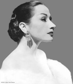 Yma Sumac (from Dita Von Teese's Facebook page)