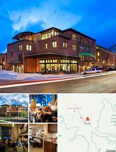 Ubicato in centro, l'hotel è circondato da negozi, bar, ristoranti e  residenze di epoca vittoriana. Aspen è una meta prediletta da sportivi e appassionati di attività all'aperto, che potranno scegliere tra diverse attività in programma in tutte le stagioni e comprendenti sci, ciclismo, escursioni, golf, pesca e rafting in acque bianche. Aspen ospita inoltre alcune gallerie d'arte e diversi musei. L'area sciistica di Aspen dista 1,5 km dall'hotel, il villaggio di Snowmass 13 km, Buttermilk…