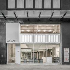 站 酷(zcool) retail facade, commercial architecture, interior architecture Architecture Design, Canopy Architecture, Facade Design, Architecture Models, Minimalist Architecture, Retail Facade, Shop Facade, Facade Lighting, Exterior Lighting