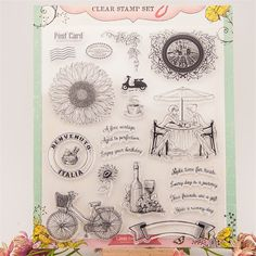 """quality time"""" Transparent Clear Silicone Stamps for DIY Scrapbooking Card Making Kids Christmas Fun Scrapbook Paper Crafts, Diy Scrapbook, Scrapbooking, Quality Time, Clear Stamps, Kids Christmas, Photo Cards, Gifts For Kids, Art For Kids"""